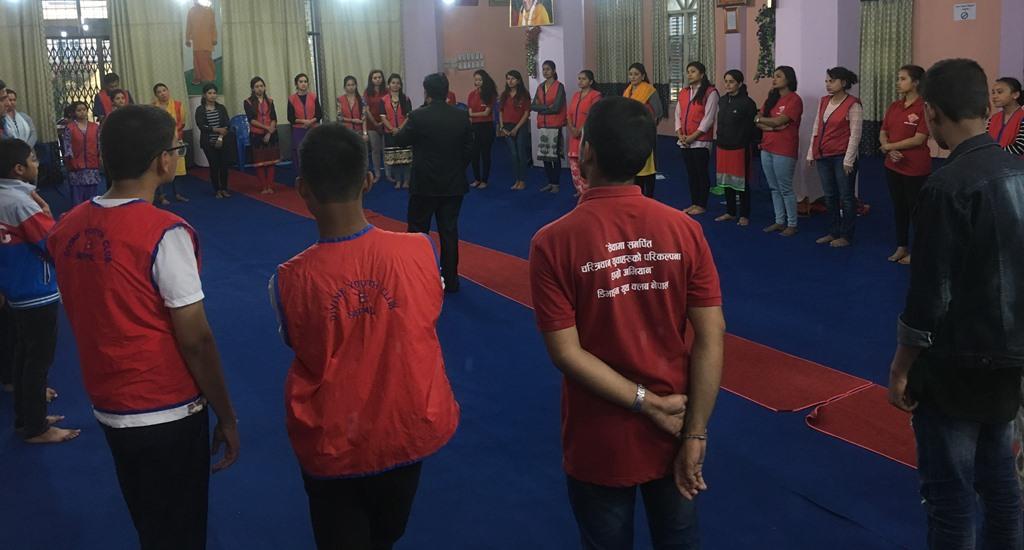 डिभाइन क्लबद्धारा युवालाई जीवन उपयोगी सीप प्रशिक्षण
