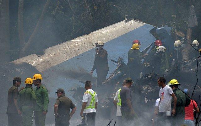 क्युबामा विमान दुर्घटनाः सयभन्दा बढीको मृत्यु, ३ गम्भीर घाइते