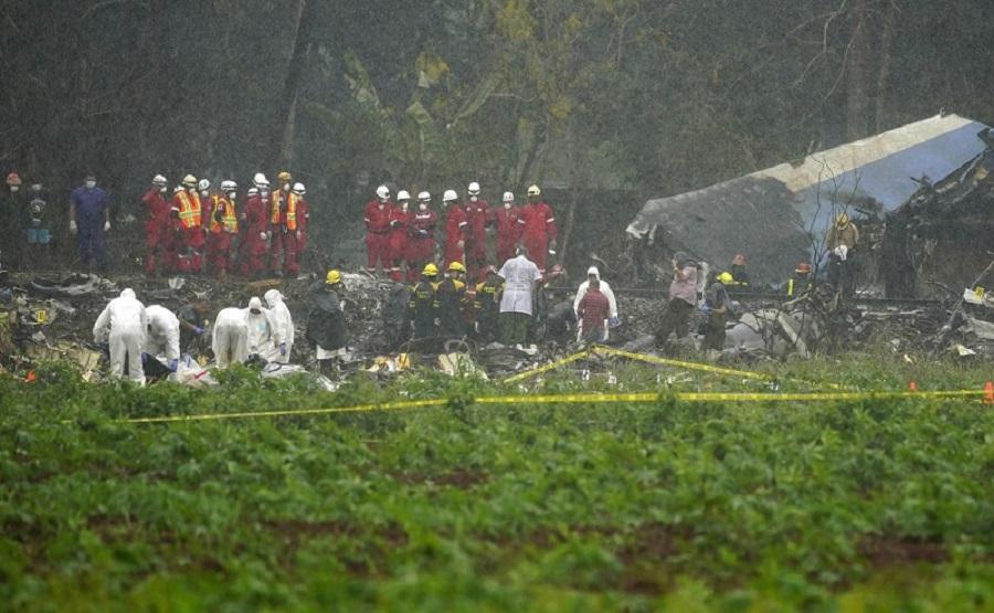 क्युवा विमान दुर्घटनाको ब्ल्याकबक्स भेटियो, देश दुई दिने शोकमा