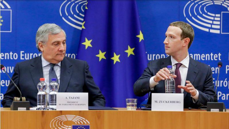 फेसबुक संस्थापकले मागे यूरोपेली सांसदसँग माफी