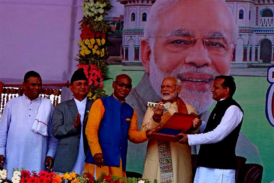 नेपालको स्वाभिमान सगरमाथा भन्दा उच्च : भारतीय प्रधानमन्त्री मोदी